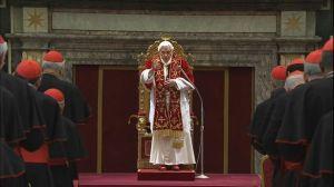 Pope frail