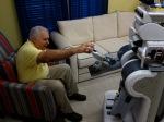 robot giving medication